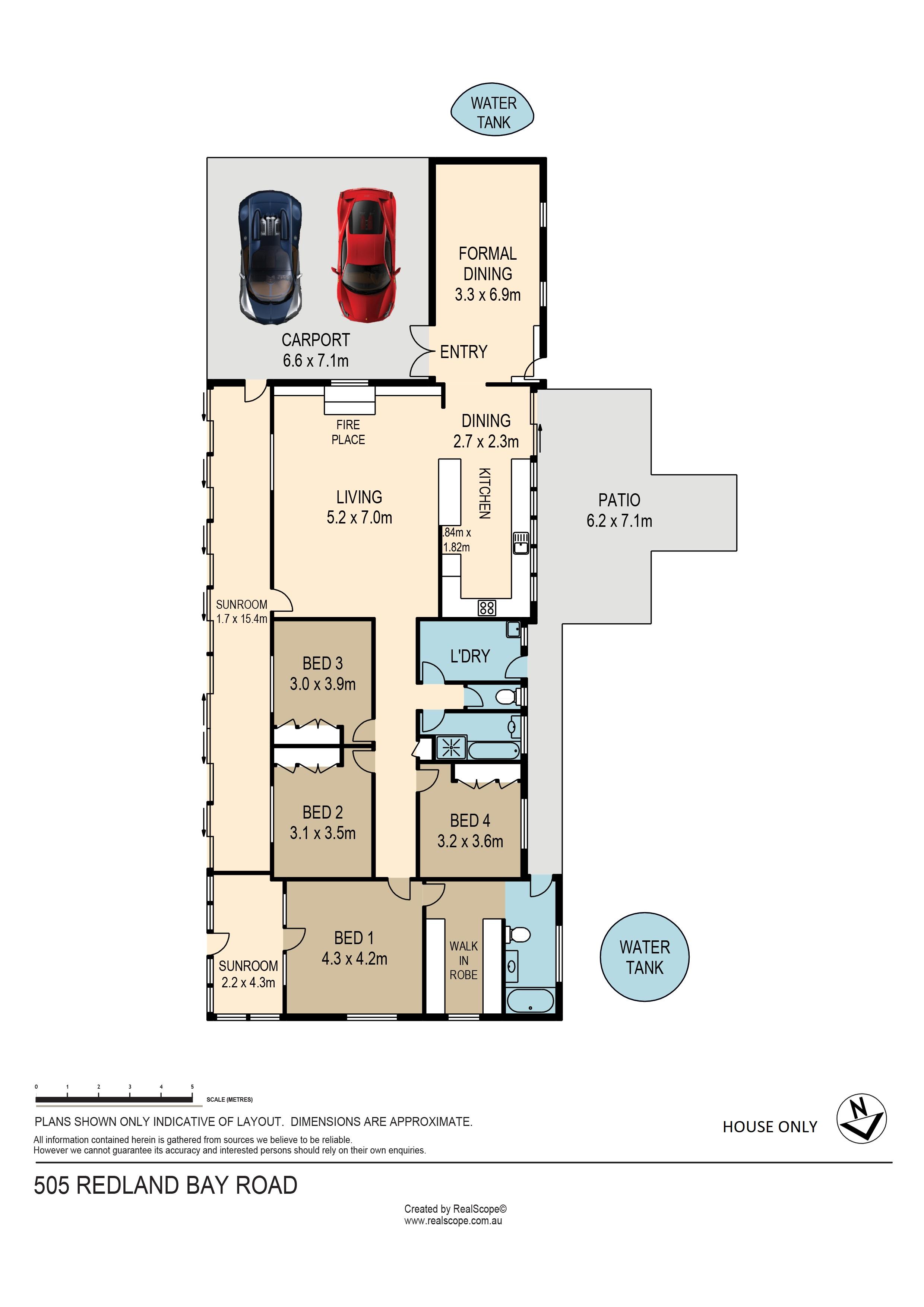 505 Redland Bay Road, Capalaba, QLD, 4157 - Floorplan 1